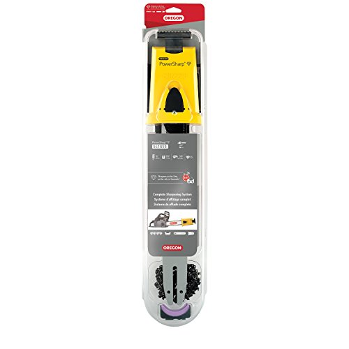Large Teeth Extra - Oregon 541655 16-Inch PowerSharp Starter Kit for Stihl, Olympyk, Oleo-Mac Chain Saws