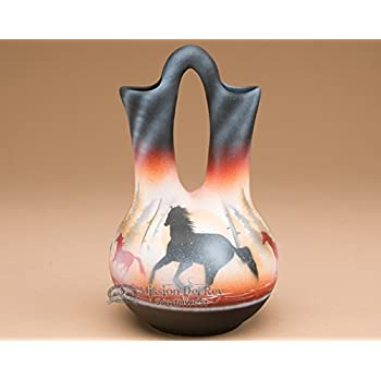 Amazon Native American Navajo Wedding Vase Natives Home Kitchen