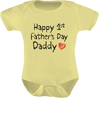 4f8384c5 Tstars Happy First Father's Day Daddy Infant Gift for New Dad Baby Bodysuit  - Buy Online in UAE. | Apparel Products in the UAE - See Prices, ...