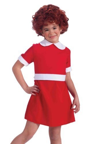 Annie Costume - Large - The Orphan Halloween Costume