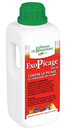 FERME DE BEAUMONT ExoPicage 250 ml - Picage arrachage plumes liquide concentré oiseaux