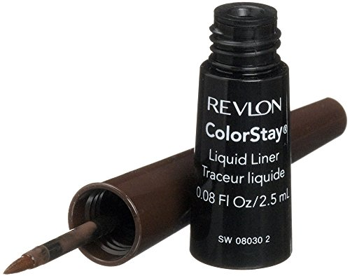 Revlon ColorStay Liquid Liner Eye Makeup, Black-Brown 252 , 0.08 oz Pack of 12