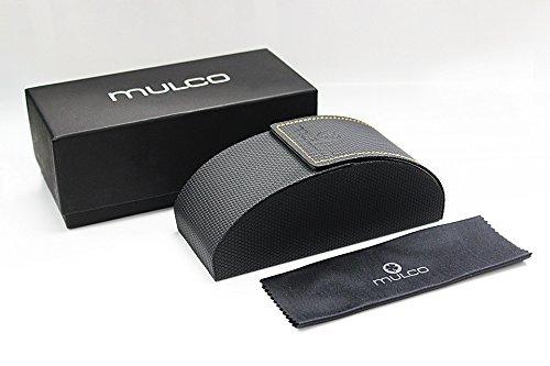 Mulco Truss Top C135 Black Frame / Rose Gold Lens 50 mm Round Sunglasses