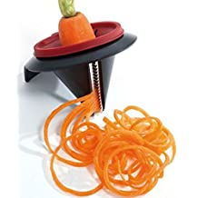 Vegetable Spiral Slicer Peeler Funnel Model Veggetti Peeler Kitchen Gadget Cooking Tool by shopidea