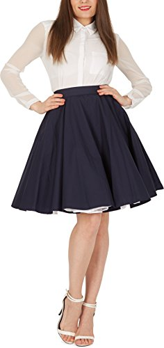 Full Skirt Fully Lined Skirt - 8