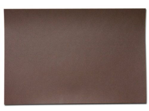 Dacasso Blotter Paper 34.00 x 20.00 x 0.02 Brown by Dacasso