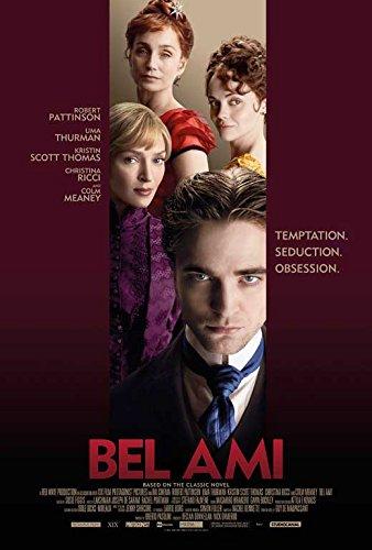 Bel Ami (2012) 27 X 40 Movie Poster Style A Robert Pattinson, Christina Ricci, Uma Thurman, Kristin Scott Thomas, Natalia Tena,