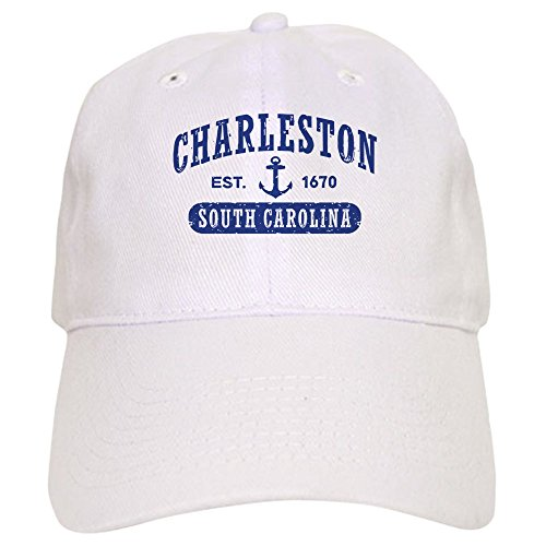 CafePress Charleston South Carolina - Baseball Cap with Adjustable Closure, Unique Printed Baseball Hat