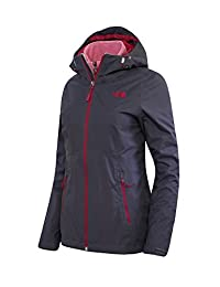 The North Face Women's SANSA Triclimate 3 in 1 system Jacket greystone blue (L)