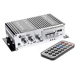 Profesional Lepai 2020 + Motor Car Ciclo 2 x 20 W Amplificador de 2 canales Amplificador de energía estéreo Hi-Fi