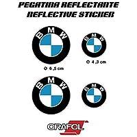 AUTOCOLLANT Autocollant ADHÉSIF Autocollant AUTOCOLLANTS AUTOCOLLANTS BMW RÉFLÉCHISSANTE MOTORRAD VOITURE VINYLE HAUTE Qualité 4 unités de REF1