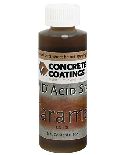 - VIVID Acid Stain - 4oz - Caramel (Light, Yellowish Brown)