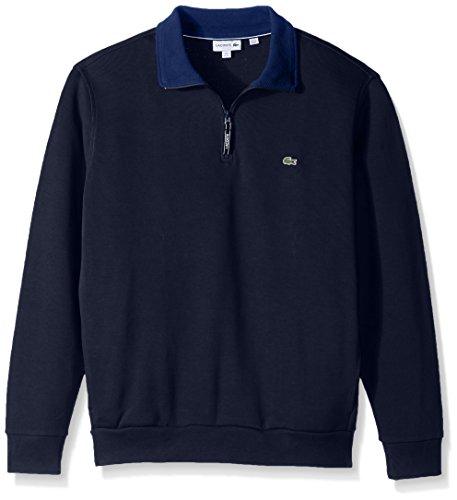 Lacoste Mens Rib Interlock 1/2 Zip Sweatshirt, SH1925-51