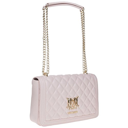 Quilted Rosa Love Chain Moschino Handbag Donna prYqcT5wUq