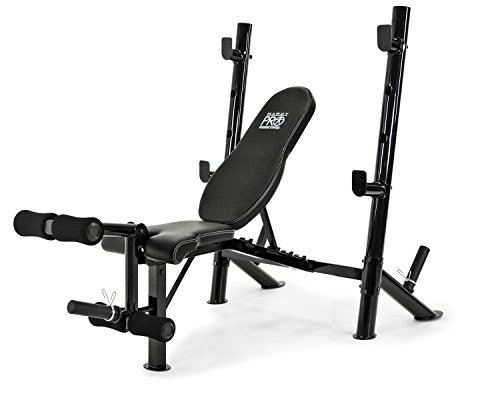 Marcy Multi-Position Mid-Size Exercise Weight Bench for Home Gym Equipment PM-767 by Marcy