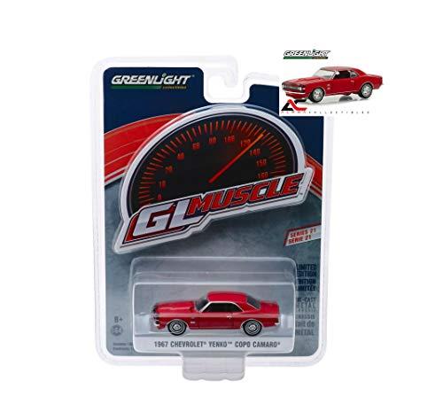 Camaro Yenko (1:64 Love Gift GL Muscle R21 RED 1967 Chevrolet YENKO COPO Camaro NIP Rare Diecast Vehicle Sportcar)