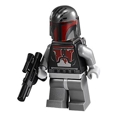 LEGO Star Wars Figurine Mandalorian Super Commando (sw494) With Blaster by LEGO: Toys & Games