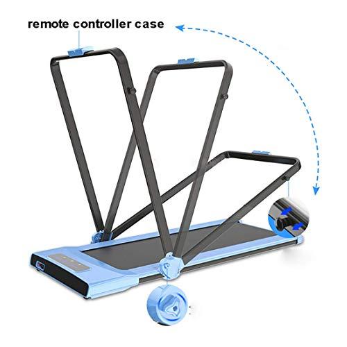Mini Electric Treadmill Running Fitness Remote Control Treadmill 500W 43cm Width Belt Speed/Time/Mileage Display Speed 1…