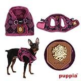 Puppia Authentic Argyle Mode Harness B, Large, Purple, My Pet Supplies