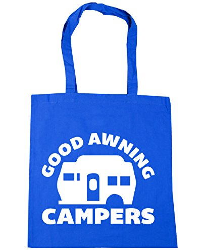 Good x38cm Bag Shopping litres 42cm Awning Campers HippoWarehouse Gym Tote 10 Cornflower Blue Beach H0dzxng