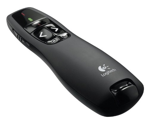 Price comparison product image Logitech Wireless Presenter R400 Presentation Wireless Presenter with Laser Pointer