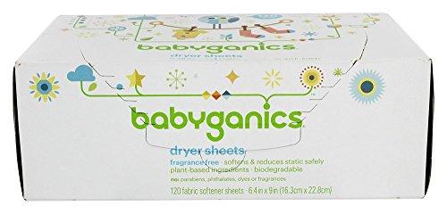 babyganics dryer sheets - 2