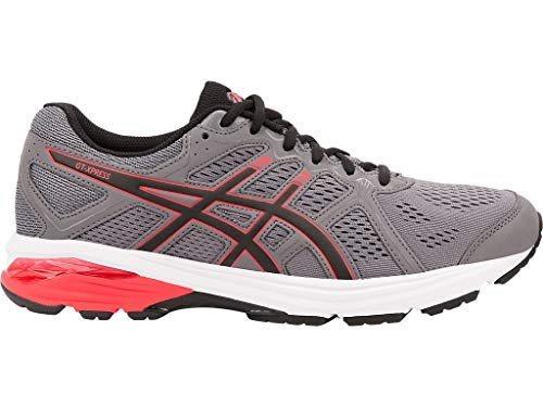 ASICS Men's GT-Xpress Running Shoes, 10.5XW, Carbon/RED Alert (Best Cushioned Running Shoes For Men)