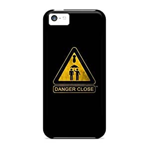 Hot Fashion TBLowhj2307oQzyJ Design Case Cover For Iphone 5c Protective Case (danger Close)