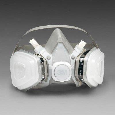 3M Half Facepiece 5000 Series P95 Dual Cartridge Respirator Assembly - Small (Respirator Cartridge Series Dual)