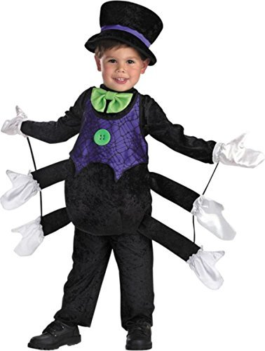 Itsy Bitsy Spider Costume - Toddler Small by (Itsy Bitsy Spider Costume Toddler)