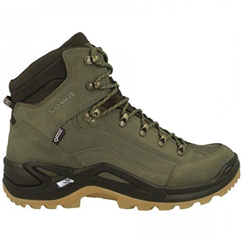 Lowa Renegade GTX Mid Forest/Dark Brown Men's Hiking Boots
