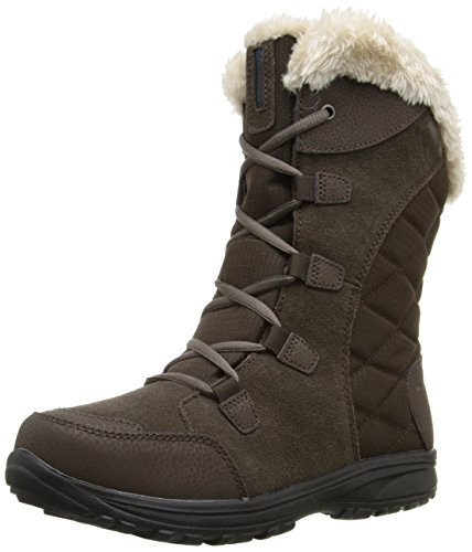 Columbia Women's Ice Maiden Ii Snow Boot, Cordovan, Siberia, 10.5 B US (Boots Lace Snow Winter)