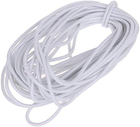 Amazon Com Usew 1 8 Inch 3mm White Heavy Stretch Round String