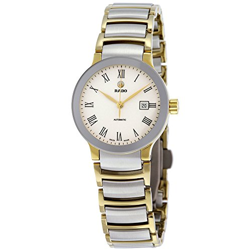 Rado Centrix Automatic White Dial Two-tone Ladies Watch R30530013