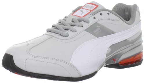 Puma Women's Cell Turin 2 Running Shoe,Grey Violet/White/Hot Coral,9.5 B US