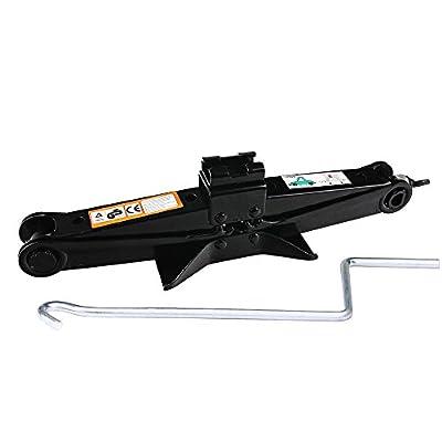 Scissor Jack Car Lift Universal 2 Ton 3.5-14 Inch for Car Van Truck Trailer Vehicles Roadside Emergency Garage Tools