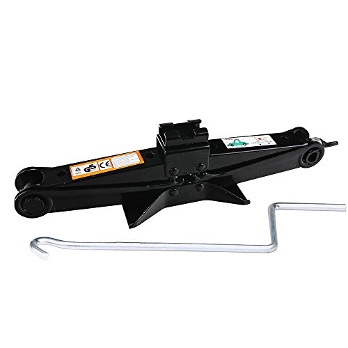 dicn-scissor-car-jack-2-ton-steel-with-chromed-handle-for-roadside-tire-change-repair-black-1-pcs