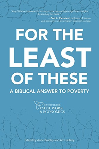 Image of For the Least of These: A Biblical Answer to Poverty