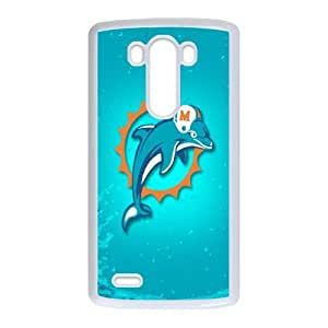 LG G3 Phone Case Sports NFL Miami Dolphins Protective Cell Phone Cases Cover DFZ028239