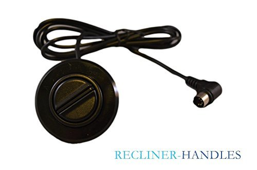 Arm 2 Recliner (2 Button Side Arm Electric Recliner Lift Chair Hand Control Handset Button Switch)