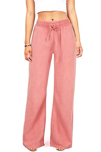 celebrity-pink-womens-juniors-wide-leg-linen-pants-l-rose
