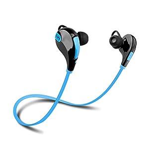 apekx wireless 4 1 bluetooth stereo in ear lightweight headphones. Black Bedroom Furniture Sets. Home Design Ideas