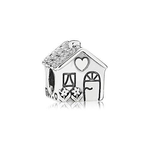 PANDORA Bead Home Sweet Home 791267 (Silver Charm House Sterling)
