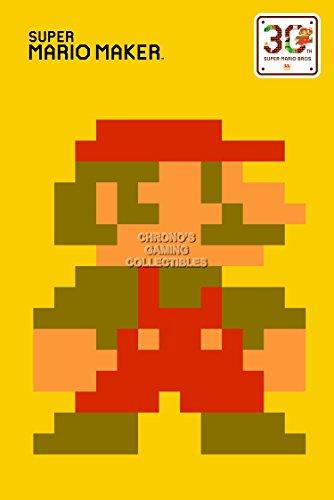 CGC Huge Poster - Super Mario Maker - Nintendo Wii U - SMM008 (24' x 36' (61cm x 91.5cm))