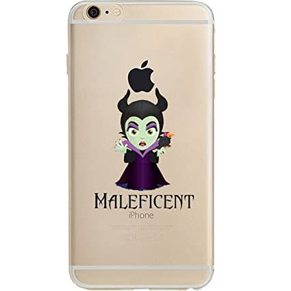 Disney Villains Evil Witch Ursula Maleficent Jelly Clear Case For Apple Iphone 6 Plus Iphone 6s Plus 5 5 Maleficent