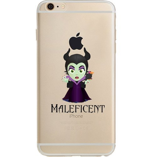 Disney Villains Evil Witch Ursula Maleficent Jelly Clear Case For Apple Iphone 6 Iphone 6s 4 7 Maleficent