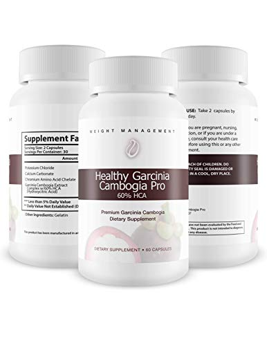 Healthy Garcinia Cambogia Pro- 60% HCA- Max Strength - Natural Weight Loss Supplements - Carb Blocker & Appetite Suppressant - All Natural Diet Pills for Women & Men - 60 Caps by Healthy Garcinia Cambogia Pro (Image #3)