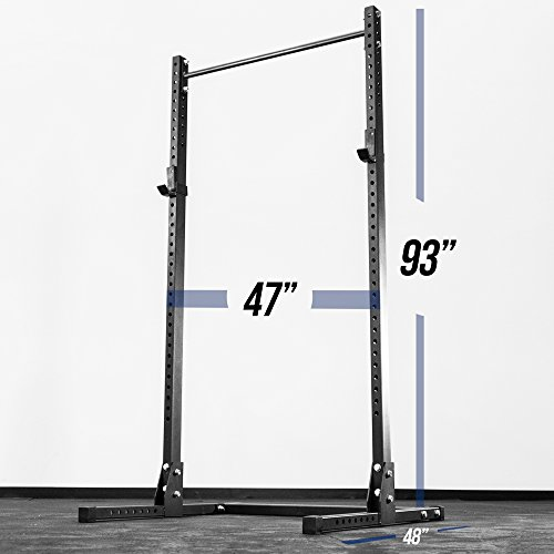 Rep SR-3100 Squat Rack with Pull-Up Bar