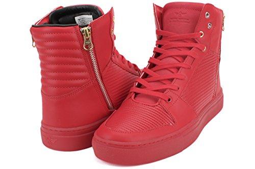Creatieve Recreatie Heren Adonis Mode Sneaker Rode Rimpeling