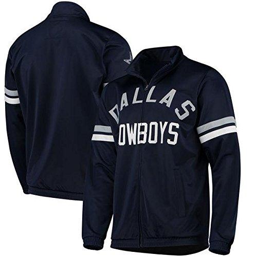 LSA Dallas Football Youth Navy Blue Veteran Track Jacket - XL -